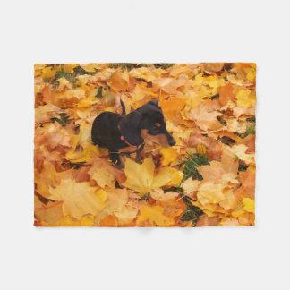 Cobertor De Velo Filhote de cachorro do Dachshund