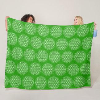 Cobertor De Velo Flor cobertura da geometria sagrado da vida da