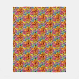 Cobertor De Velo Flor da vida