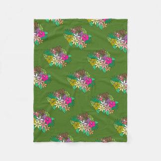 Cobertor De Velo Flores 2