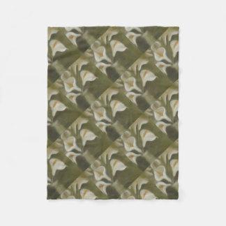 Cobertor De Velo Flores de corte do Calla em um vaso