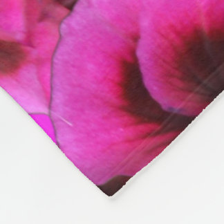 Cobertor De Velo Flores magentas do gerânio, grande cobertura do