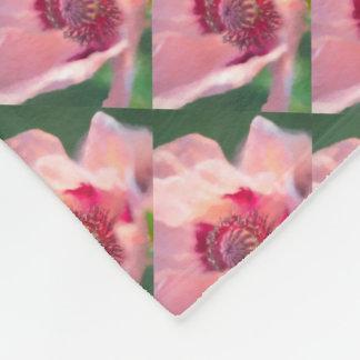 Cobertor De Velo Florescido papoila