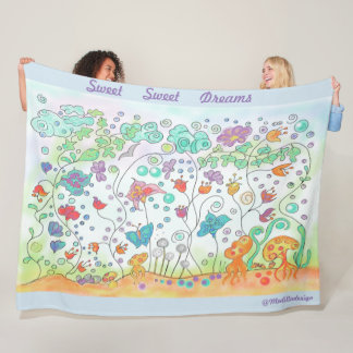 Cobertor De Velo Floresta mágica