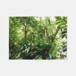 Cobertor De Velo Floresta tropical dominiquense mim natureza verde