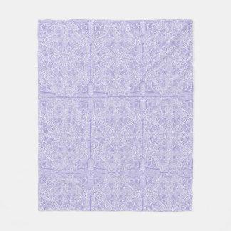 Cobertor De Velo Fluxo elegante do Lilac