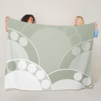 Cobertor De Velo Folha verde da fronda da samambaia - cobertura do