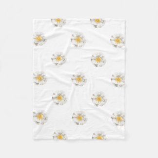 Cobertor De Velo Foto da flor branca