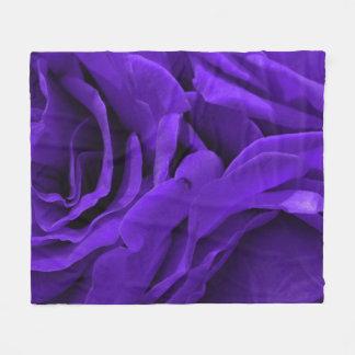 Cobertor De Velo Foto roxa brilhante delicada da flor dos rosas