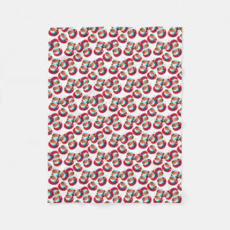Cobertor De Velo Fotografia colorida do copo e dos pires do café