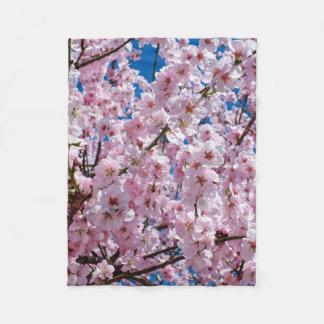 Cobertor De Velo fotografia cor-de-rosa elegante da árvore da flor