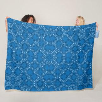 Cobertor De Velo Foulard azul régio do cetim do Victorian do