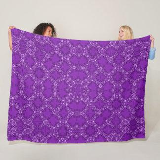 Cobertor De Velo Foulard roxo régio do cetim do Victorian do