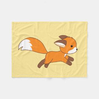 Cobertor De Velo Fox bonito do corredor