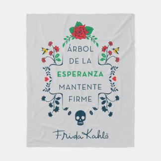 Cobertor De Velo Frida Kahlo | Árbol De La Esperanza