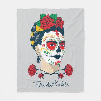 Cobertor De Velo Frida Kahlo | EL Día de los Muertos