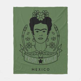 Cobertor De Velo Frida Kahlo | Heroína