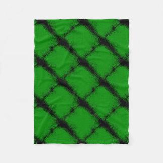 Cobertor De Velo Fundo verde do Grunge