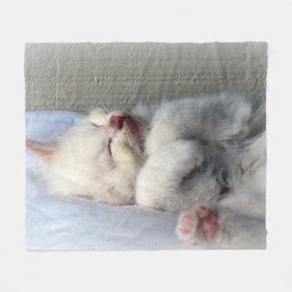 Cobertor De Velo Gatinho sonolento