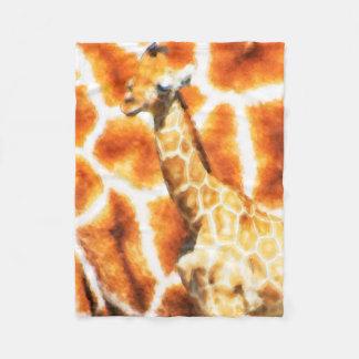 Cobertor De Velo Girafa do bebê