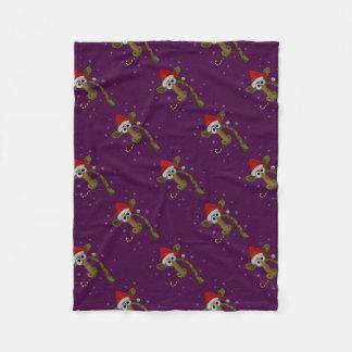 Cobertor De Velo Girafa do Natal