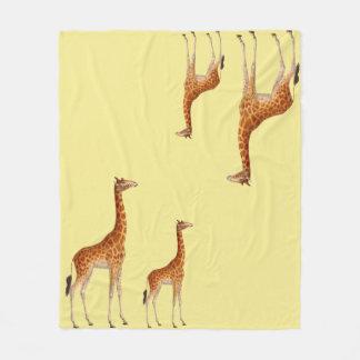 Cobertor De Velo Girafa irresistível