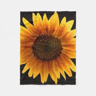 Cobertor De Velo Girassol rústico do outono