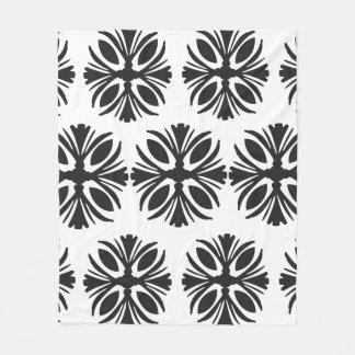 Cobertor De Velo Grande cobertura preto e branco moderna do teste