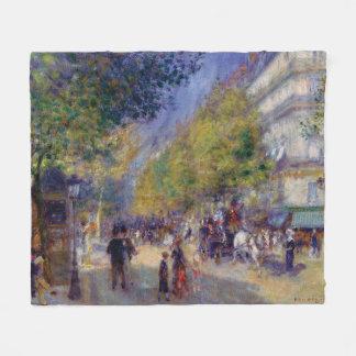 Cobertor De Velo Grands Boulevards de Les por Renoir