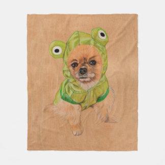 Cobertor De Velo Greenie pequeno