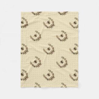 Cobertor De Velo Grinalda da abelha do vintage