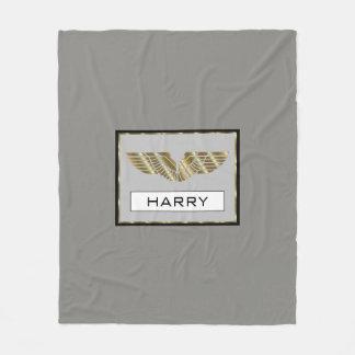 Cobertor De Velo Harry personalizou a cobertura do velo