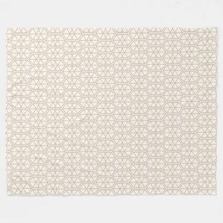 Cobertor De Velo Hexágono Pastel sextavado do teste padrão