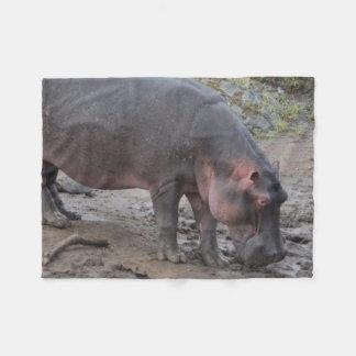 Cobertor De Velo Hipopótamo