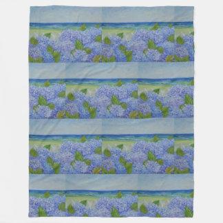 Cobertor De Velo Hydrangeas pelo mar