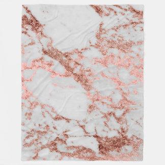 Cobertor De Velo Imagem cor-de-rosa da textura do mármore do brilho