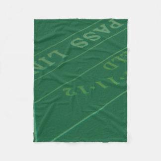 Cobertor De Velo Imagem da mesa dos excrementos dos jogadores