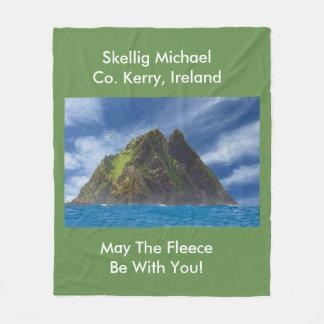 Cobertor De Velo Imagem irlandesa para a cobertura do velo, meio