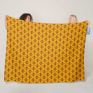 Cobertor De Velo Impressão animal do leopardo geométrico