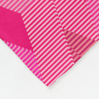 Cobertor De Velo Impressão moderno do diamante do meio século, rosa
