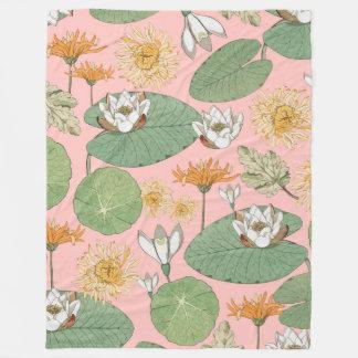 Cobertor De Velo Jardins reais do vintage
