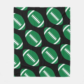 Cobertor De Velo Jogador de futebol ou cobertura verde grande dos