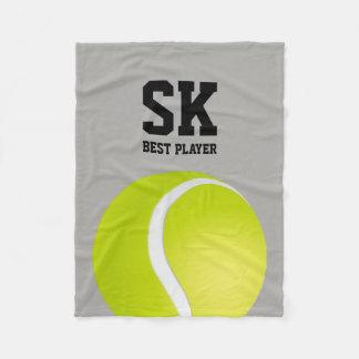 Cobertor De Velo Jogador personalizado do tênis de | melhor
