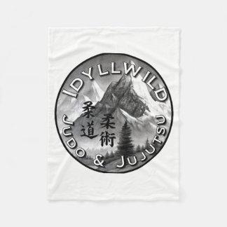 Cobertor De Velo Judo de Idyllwild e cobertura do logotipo de