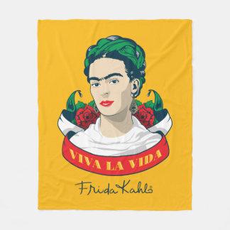 Cobertor De Velo La Vida de Frida Kahlo | Viva