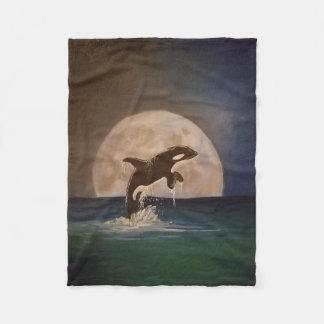 Cobertor De Velo Lance do velo da baleia de assassino