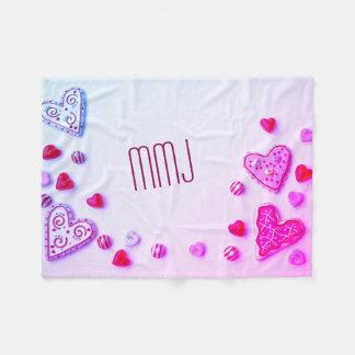Cobertor De Velo Lance Monogrammed dos namorados