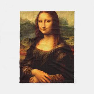 Cobertor De Velo LEONARDO DA VINCI - Mona Lisa, La Gioconda 1503