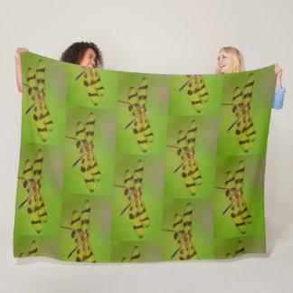 Cobertor De Velo Libélula dourada