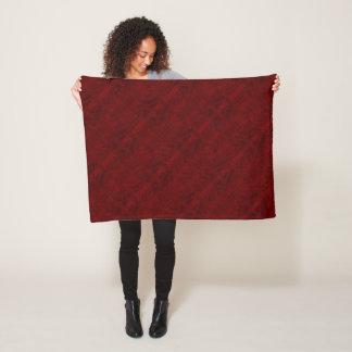 Cobertor De Velo Linha vermelho escuro cobertura do velo